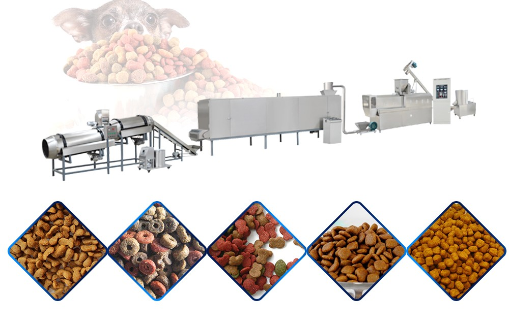 automatic pet food making production line