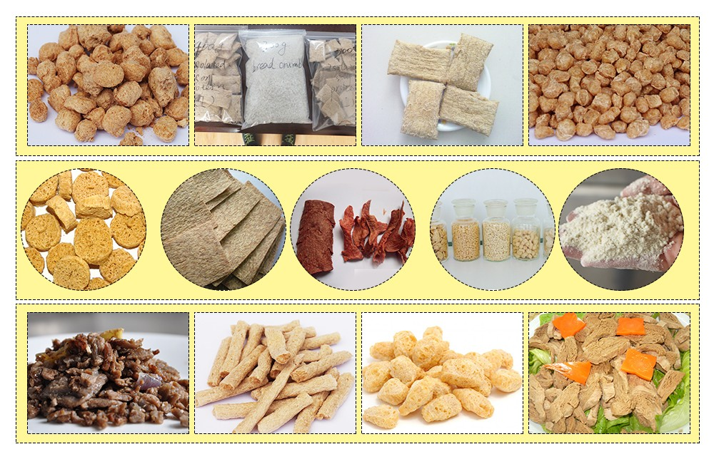SOYBEAN MEAT/ BARI MANUFACTURING PROCESS