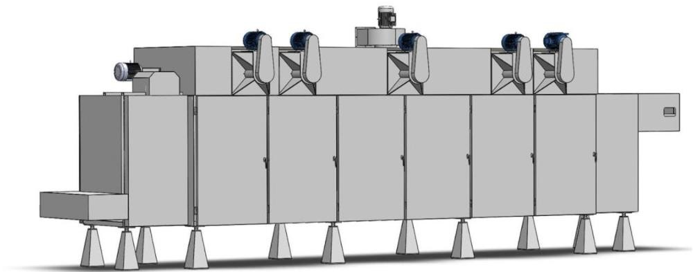 technical for Industrial Pellet Chips Dryer Machine