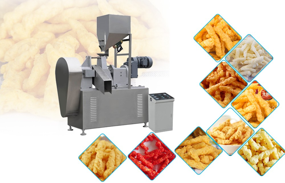 kurkure making machine manufacturers