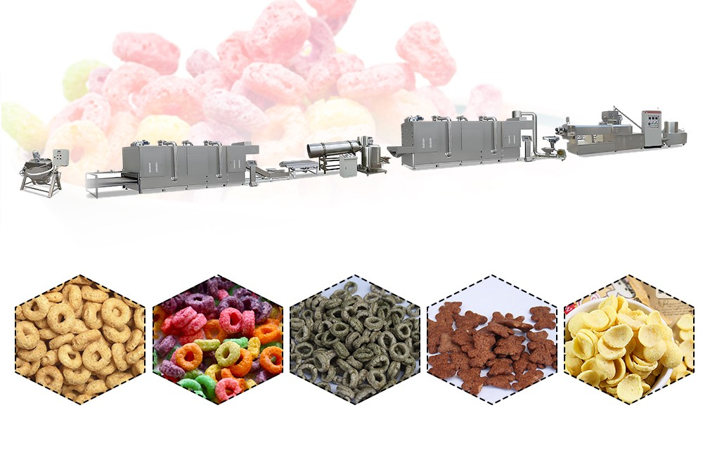 Breakfast Cereal Making Machine manufacture process