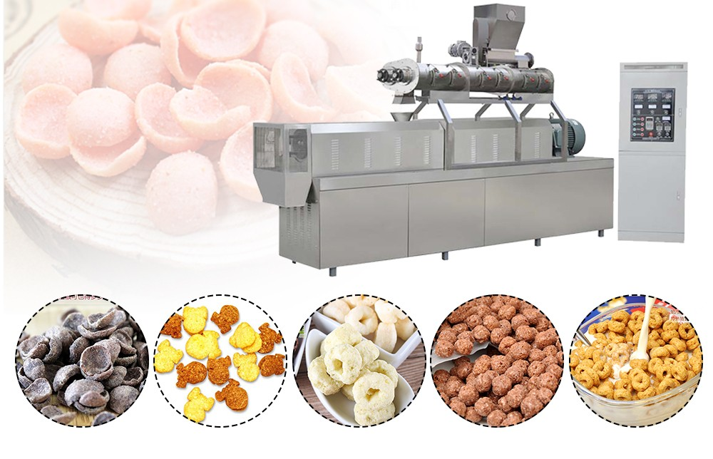 Breakfast Cereal Making Machine Process