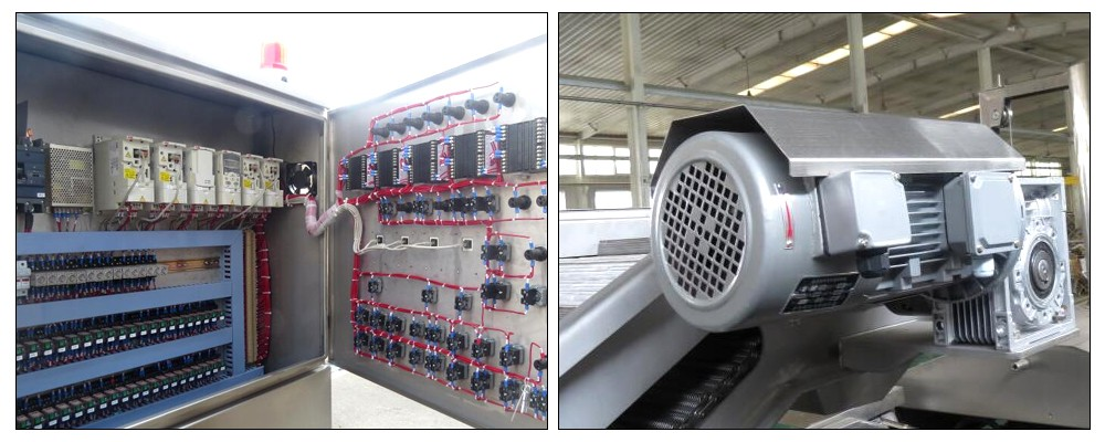 industrial fryer machine