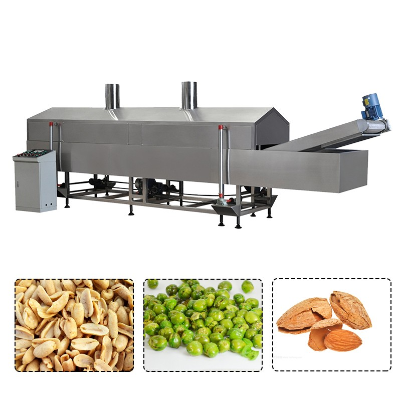 Peanut Snack Food Fryer Machine