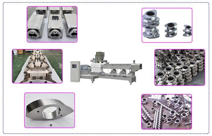 twin screw extruder machine