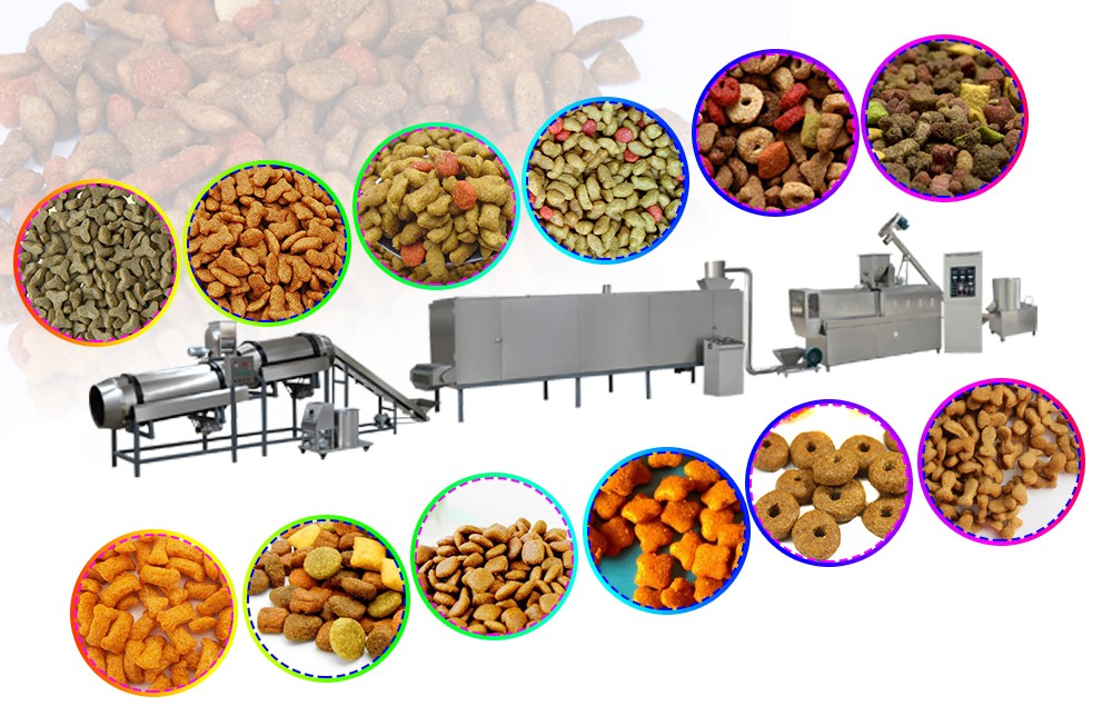 pet feed making machine
