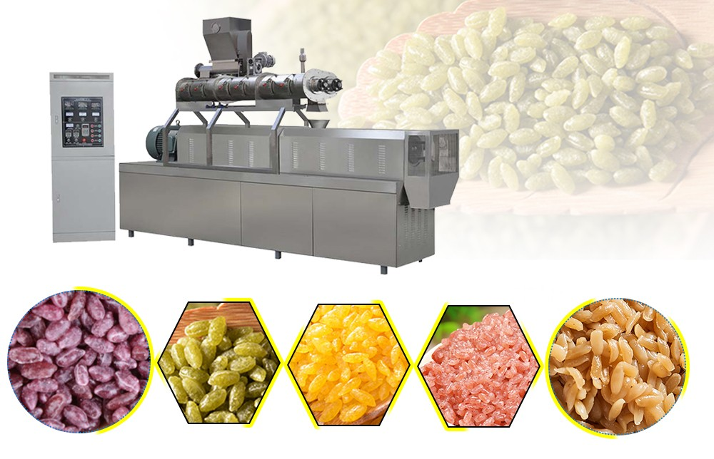 automatic nutritious rice production line