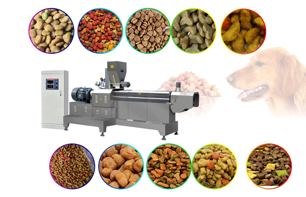pet feed making machine