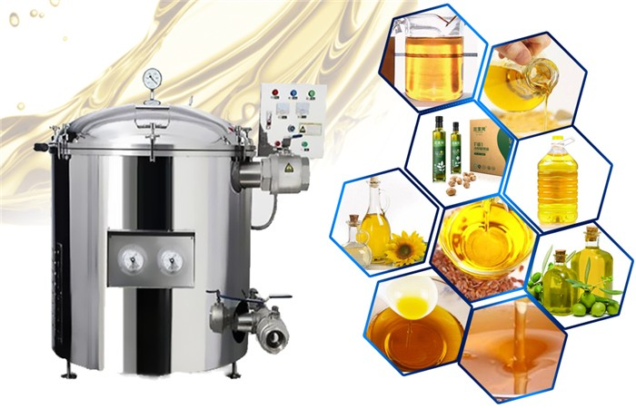 full automatic edible oil filtration equipment