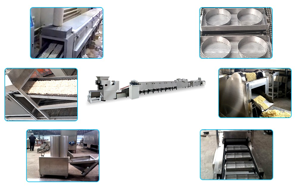 automatic instant noodle making equipment