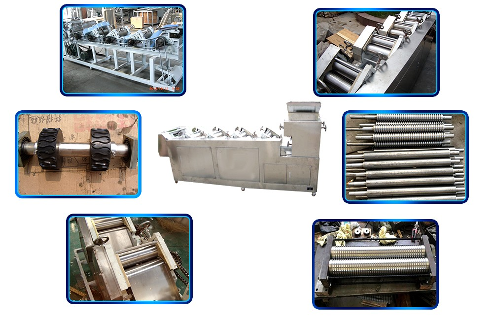 industrial fried dough snackproduction line