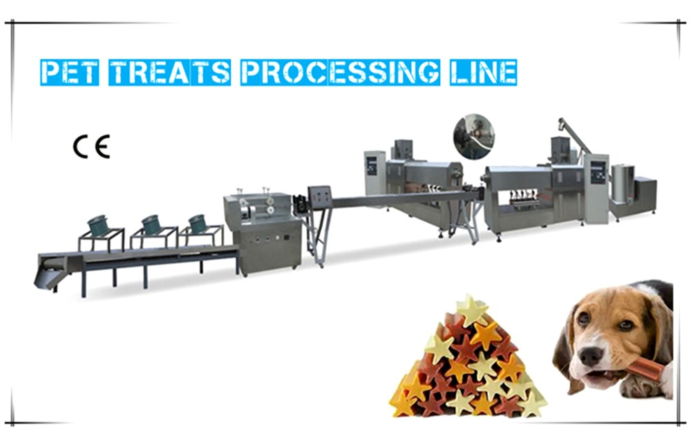 Automatic pet biscuit treat processing line technical