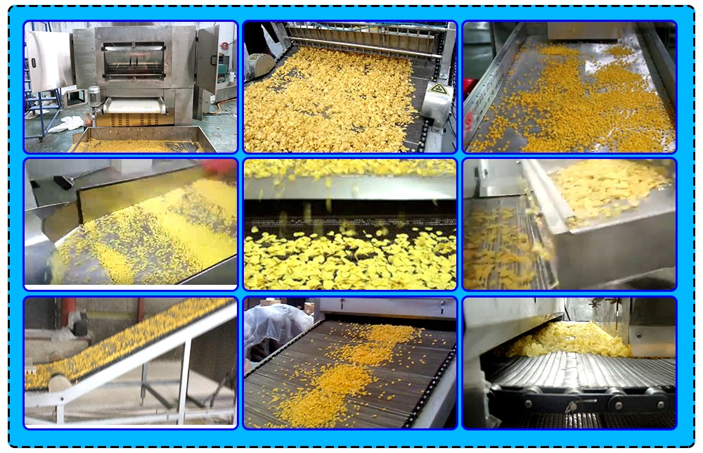 breakfast cereal making production linr