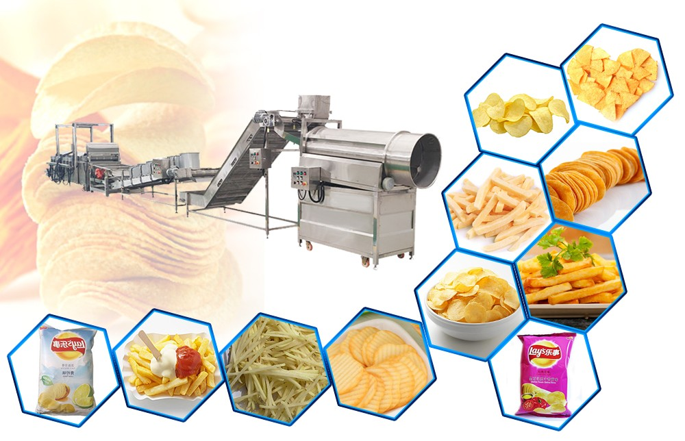 Automatic Potato Chips Making Machine Project