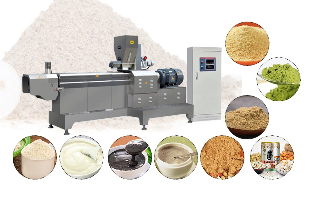 Nutritional Baby Rice Powder Food production Line technical