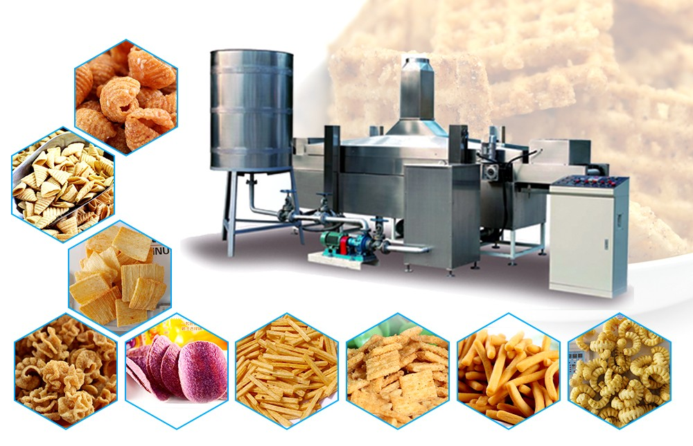 Industrial Deep Fryer Machine Systems Design