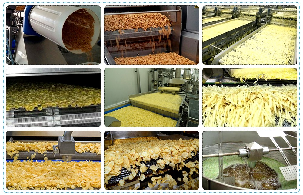 Industrial Deep Fryer Machine Systems applications