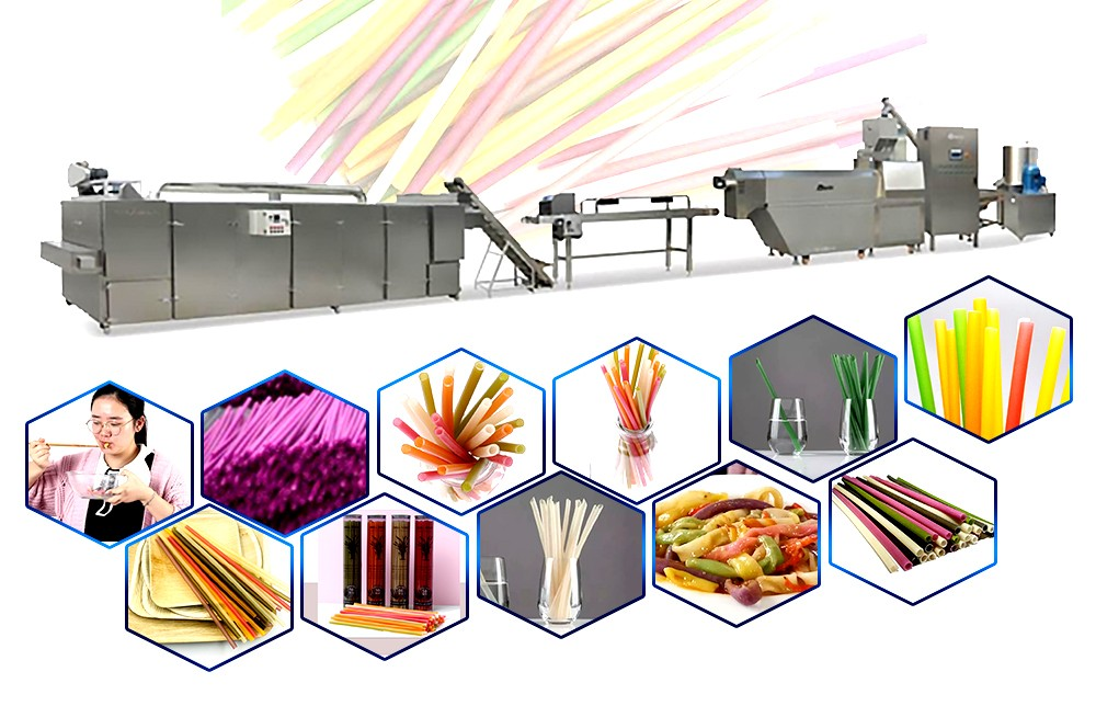 edible rice straw making machine