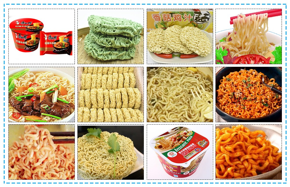 industrial instant noodles making production line