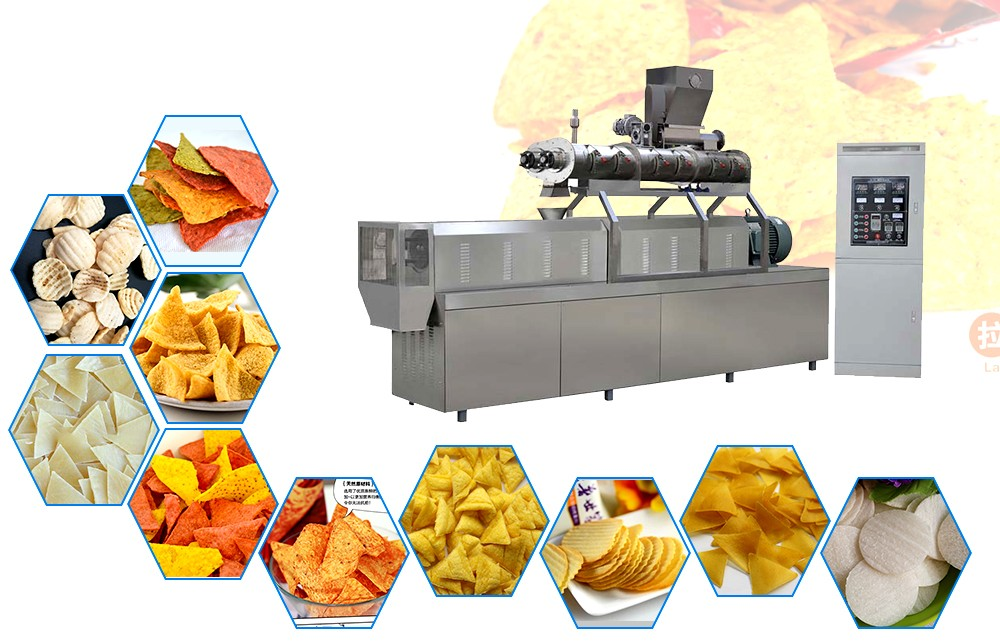 Doritos chips making machine manufacture process