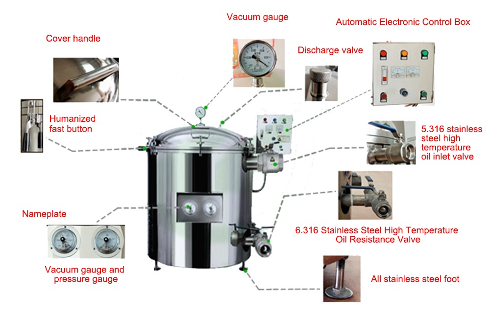 deep fryer with filtration system