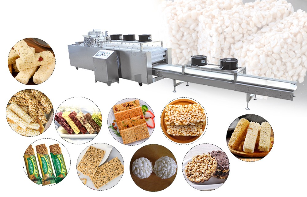 nutrition cereals bar making machine for sale