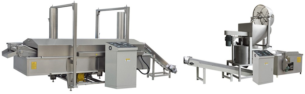 FRYING MACHINE FOR OF FRIED DOUGH SNACK TECHNICAL