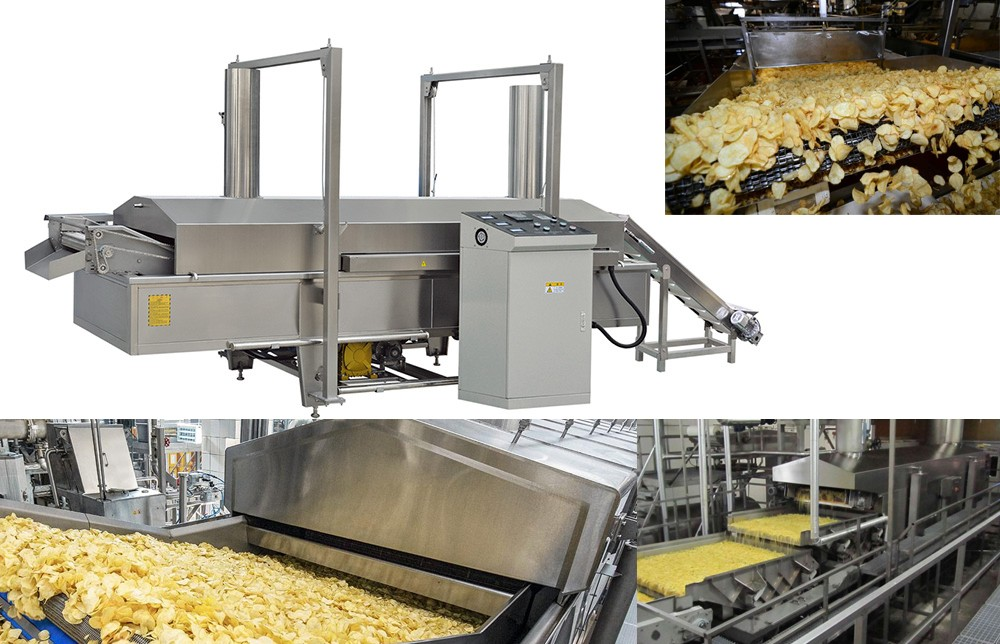 DETAILS OF INDUSTRICAL FRYER PROCESS