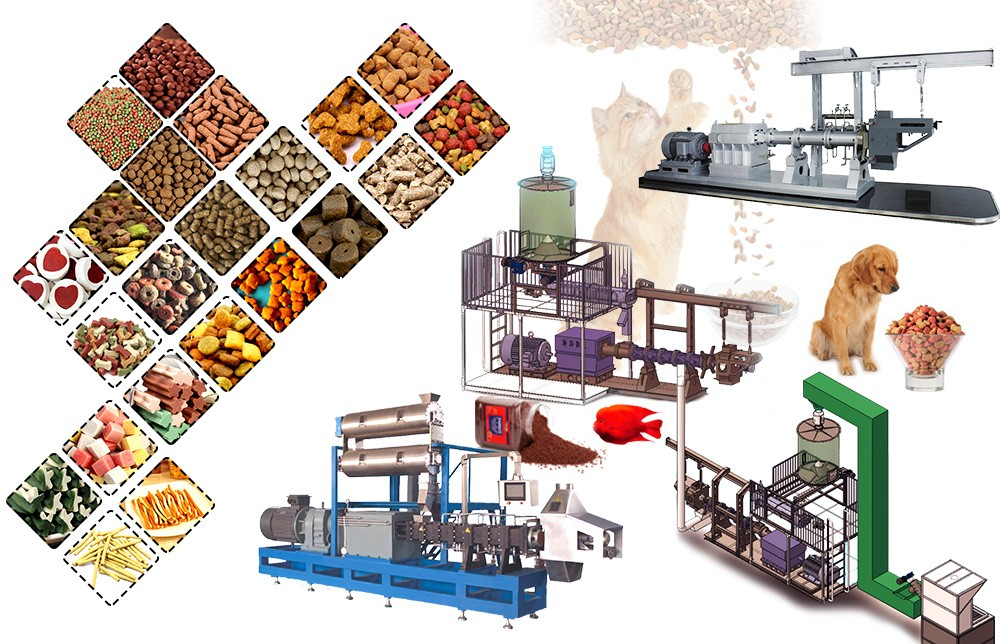 dog food extruder making process