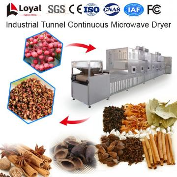 Industrial Tunnel Continuous Microwave Dryer