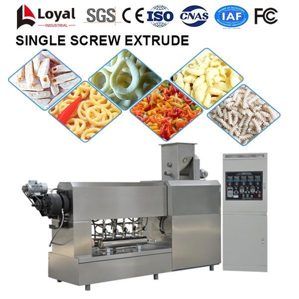 Single Screw Extruder Food Processing Machine #3 image