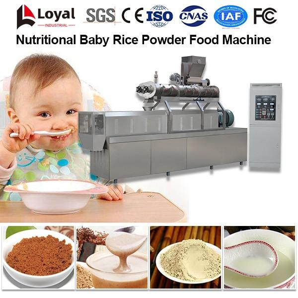 Nutritional Baby Rice Powder Food Processing Line #3 image