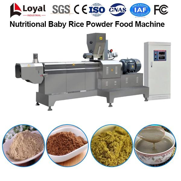 Nutritional Baby Rice Powder Food Processing Line #4 image